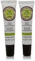 Perlier Shea Butter with Coconut Milk Lip Balm Duo
