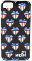 Love Moschino american heart iPhone 5/5S cover - unisex - Acetate - One Size
