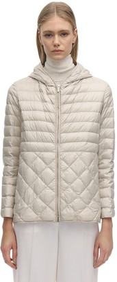 S Max Mara Max Mara The Cube Hooded Down Jacket