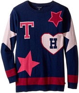 Tommy Hilfiger Stars and Hearts Tunic Sweater (Big Kids)