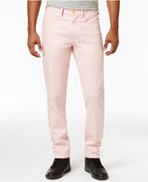 Sean John Men's Linen Slim Straight-Fit Jeans