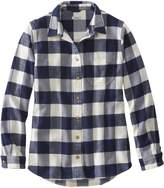 L.L. Bean Organic Flannel Plaid Tunic
