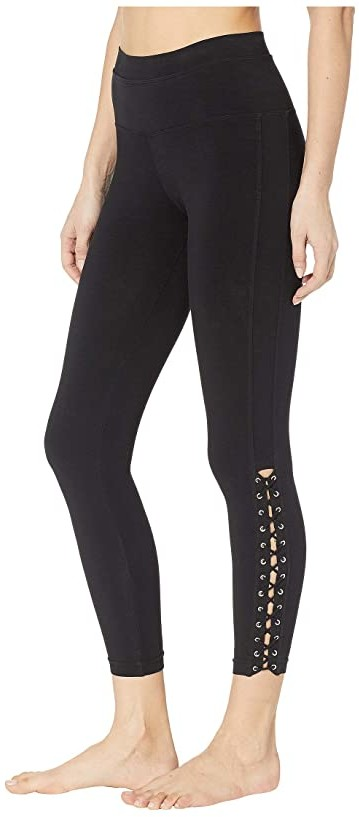Hard Tail Laced Ankle Leggings