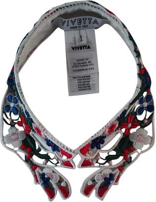 VIVETTA White Polyester Scarves