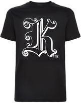 Christopher Kane Initial Logo Motif Cotton T-shirt