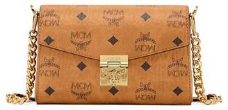 MCM Millie Visetos Crossbody Bag
