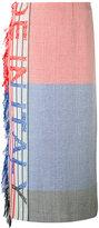 Ports 1961 'Italy' pencil skirt - women - Linen/Flax/Viscose - 40