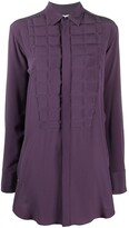 Bottega Veneta quilted front shirt