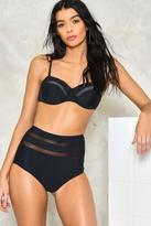 Nasty Gal nastygal Just a Peek Bikini Set