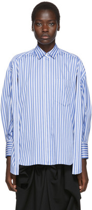 Enfold White and Blue Multi Shirt