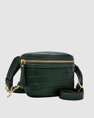 Fossil Brenna Green Shoulder Bag
