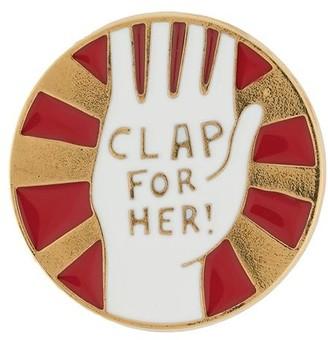 Chloé Hand motif pin