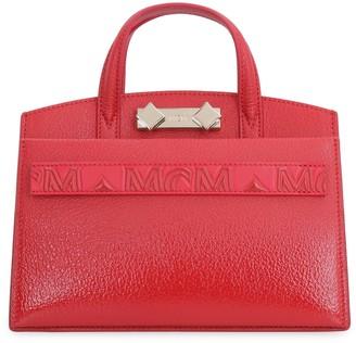 MCM Milano Leather Mini Tote