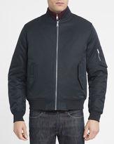 Ben Sherman Navy Cotton Bomber Jacket
