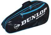 Dunlop Force 6 Racket Bag Carry Handles Outer Zip Accessories Pocket Sports Case