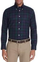 Brooks Brothers Plaid Twill Slim Fit Button-Down Shirt
