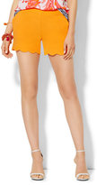 New York & Co. Scallop-Hem Soft Short