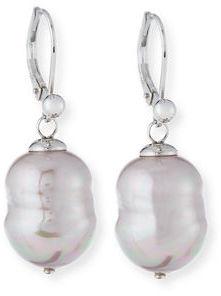 Majorica Baroque Pearl Earrings, Nuage