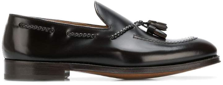Doucal's tassel slip-on loafers