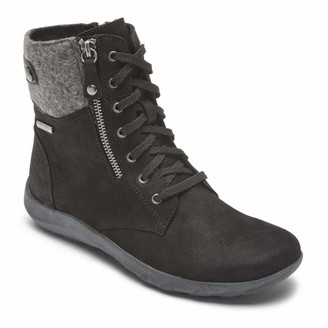 Cobb Hill Amalie Lace Waterproof Boot Black