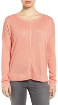 Caslon Soft Jersey Sweatshirt (Regular & Petite)