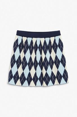Monki Pleated mini skirt
