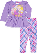 Children's Apparel Network Lilac Rapunzel Tee & Pants - Toddler & Girls