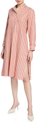 Palmer Harding Palmer//Harding Alexandria Striped Shirt Dress