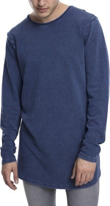 Urban Classics Men's Acid Washed Longsleeve T-Shirt