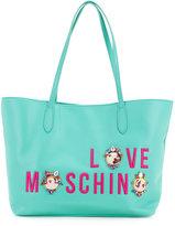 Love Moschino logo shopper tote