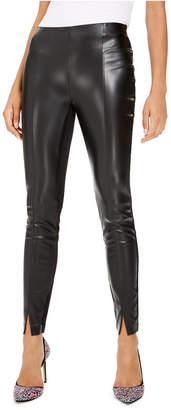 Bar III Faux-Leather Leggings
