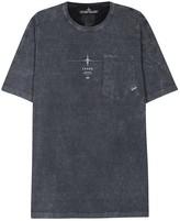 Stone Island X Shadow Project Dark Grey Cotton T-shirt