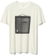 Gap Amp and mouse abstract graphic tee