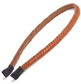 Tasha Braided Faux Leather Headband