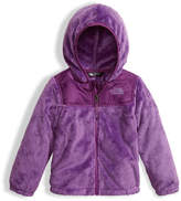 The North Face Girls' Oso Fleece Zip Hoodie, Purple, Size 2-4T