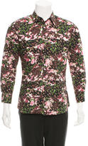 Givenchy Floral Print Button-Up Shirt