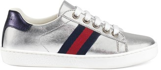 Gucci Children's Ace leather sneaker