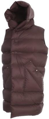 Rick Owens Hooded Sleeveless Puffer Coat