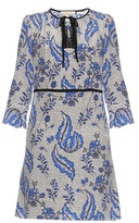 Vanessa Bruno Emod ivy-print silk-crepe dress
