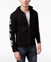 INC International Concepts Men's Embroidered-Sleeve Hoodie, Only at Macy's