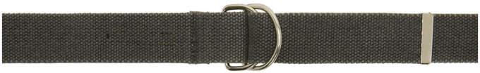 Yeezy Grey Web Belt