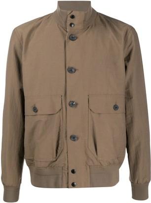 Ermenegildo Zegna Flap Pocket Buttoned Jacket