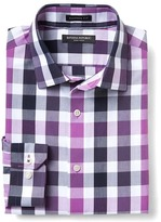 Banana Republic Camden-Fit Non-Iron Gingham Shirt