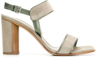Sartore Leather Trim Sandals
