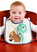 The Gift Pod Squirrel Baby Bib