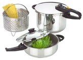 Fagor Duo Combi Pressure Cooker Set