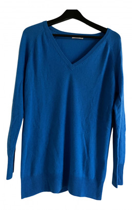 Equipment Blue Cashmere Knitwear