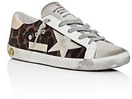 Golden Goose Unisex Superstar Leopard Print Low-Top Sneakers - Toddler Little Kid