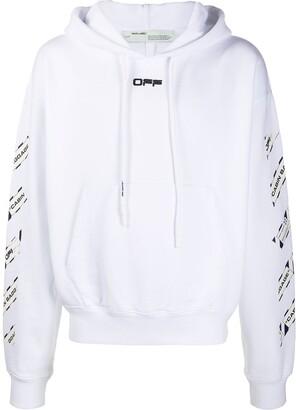 Off-White Arrows Print Hoodie