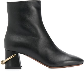 L'Autre Chose Ring Heel 60mm Ankle Boots